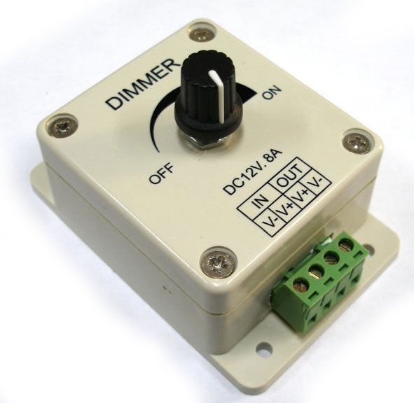 A 12v dimmer for backlighting